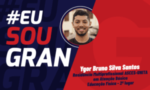 Ygor Bruno recusou propostas de emprego para continuar focado nos estudos e foi aprovado