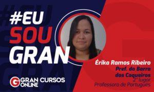 Mesmo trabalhando em 3 turnos, Érika Ramos conquistou a aprovação!