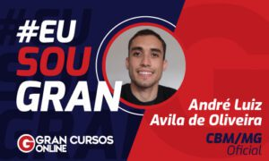 Sonho que virou realidade: conheça André L. Avila, aprovado no CBM MG!