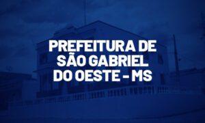 Concurso São Gabriel do Oeste MS: TCE recomenda certame. SAIBA MAIS!