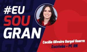 3° lugar no Concurso PC RN: conheça Cecília Oliveira!
