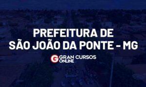 Concurso São João da Ponte MG: 300 vagas; até R$ 13 mil!