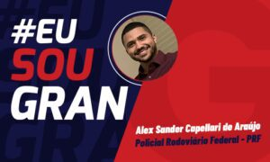 Aprovação no Concurso PRF: conheça Alex Sander Capellari!