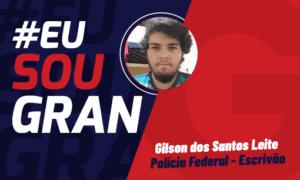 Aprovado no concurso PF aos 21 anos: conheça Gilson dos Santos!