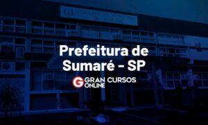 Concurso Prefeitura de Sumaré SP: inscrições abertas. VEJA!