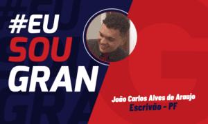 João Carlos Alves fez do estudo uma profissão e foi aprovado!