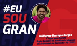 Guilherme Borges conquistou o 2° lugar no Concurso Uberlândia!