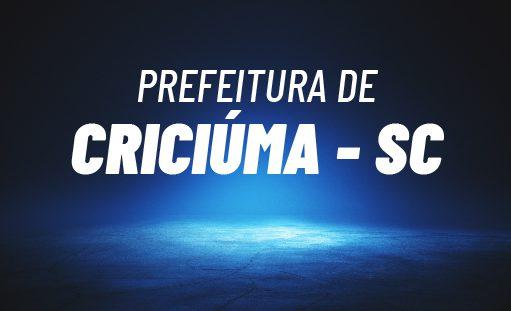 Concurso Criciúma SC: saiu edital para educação. 88 vagas. SAIBA MAIS!