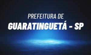 Concurso Guaratinguetá SP: banca em definição. SAIBA MAIS!