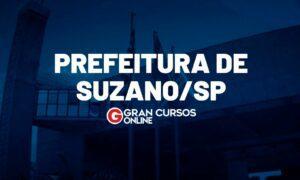 Concurso Suzano SP: banca em definição. VEJA!