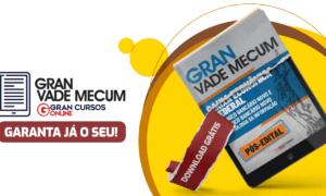 Concurso Caixa: estude com o Gran Vade Mecum gratuito!