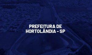 Concurso Hortolândia SP: banca definida. SAIBA MAIS!