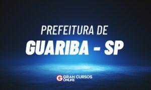 Concurso Prefeitura de Guariba SP: banca em definição!