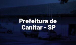 Concurso Canitar SP: banca em definição. SAIBA MAIS